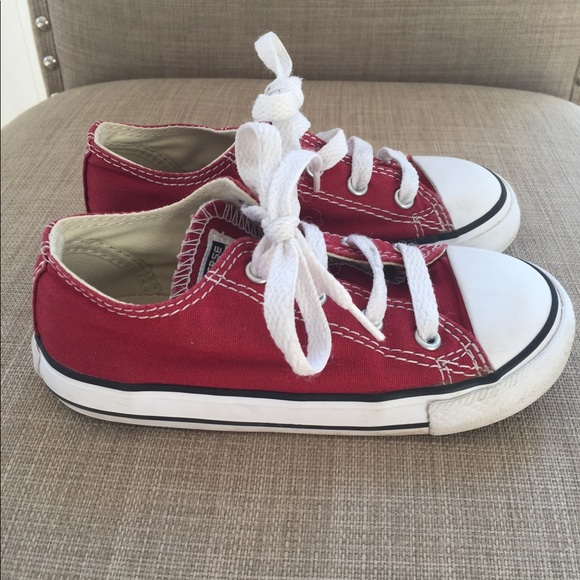 c4effd6693f8 Converse Other - Toddler boy s size 9 red Converse.